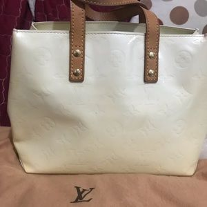 USED.  LOUIS VUITTON PM VERNI LEATHER BAG